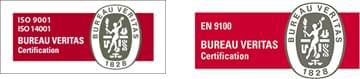Certifications Bureau Veritas pour Aéro Métal